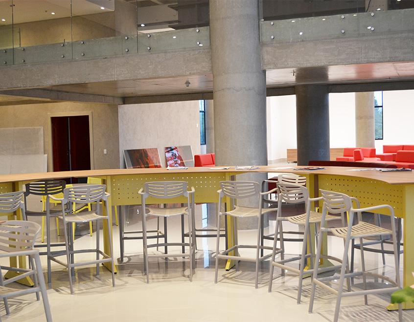 Banqueta Bar Plaza Brick